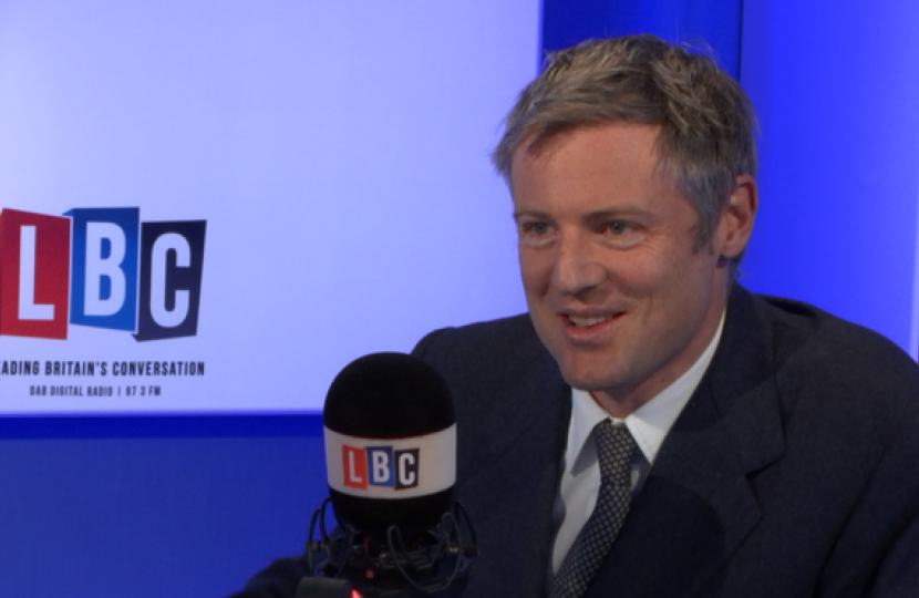 Zac Goldsmith MP  Counters Fake News Story that MPs no Longer Believe Animals Have Feelings