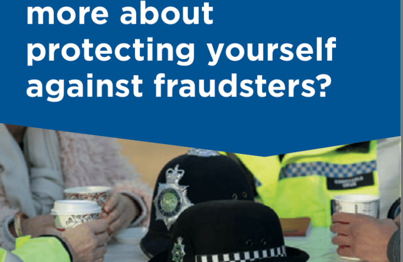 Protect yourself against Fraudsters