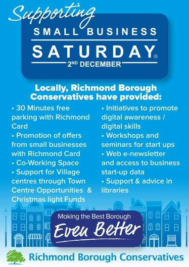 richmond conservatives small business saturday